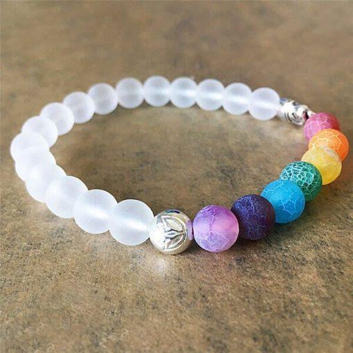 7 Chakra Elephant Bracelet