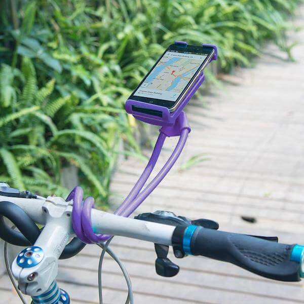bike lazy neck phone holder