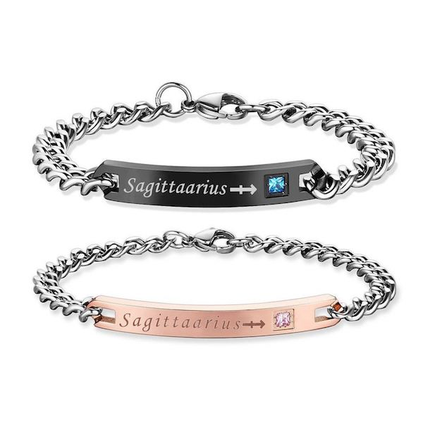 sagittarius Bracelets - Zodiac Sign Matching Couple Bracelets [12 Variants]