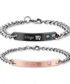 virgo Bracelets - Zodiac Sign Matching Couple Bracelets [12 Variants]