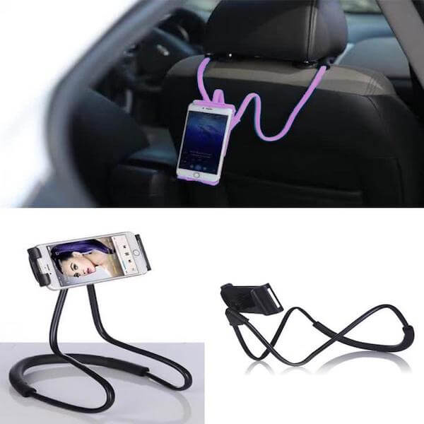 car lazy neck phone holder