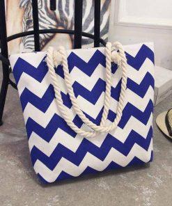 canvas summer beach messenger bag