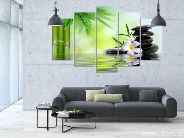zen canvas painting