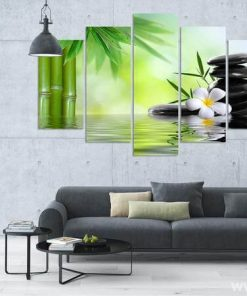 Bamboo Canvas Wall Art