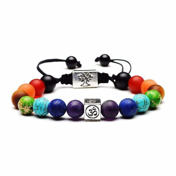 The Benefits Of Wearing Chakra Jewelry- Tree Of Life Chakra Charm Bracelet
