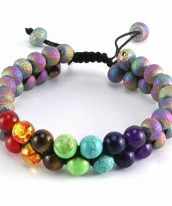 Colorful Natural Stone Bracelet