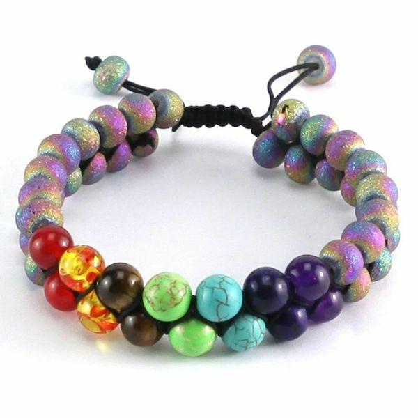 Colorful Natural Stone Bracelet