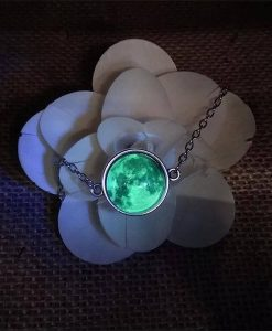 green moon bracelet