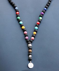 7 chakra meditation necklace