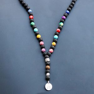 7 chakra meditation necklace