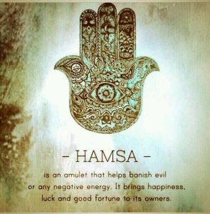 The meaning of the Hamsa Hand symbol