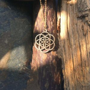 Flower Of Life Alignment Pendant Necklace