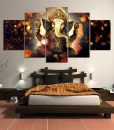 sitting-posture-ganesha-canvas-painting-for-bedroom