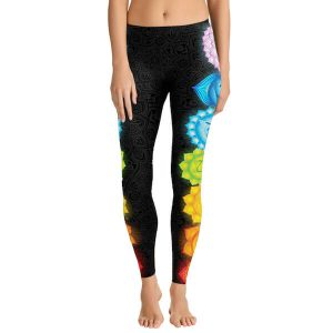 7 Chakra Yoga Leggings