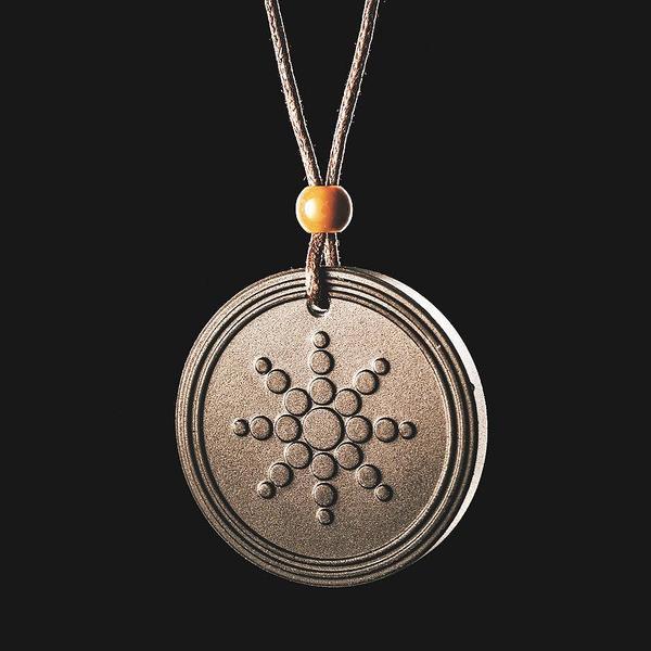 Quantum Scalar Energy Pendant Necklace