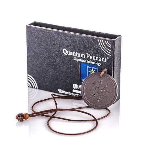 Quantum Scalar Energy Pendant Necklace