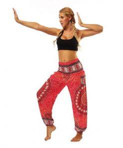Straight Loose Bloomers Yoga Pants