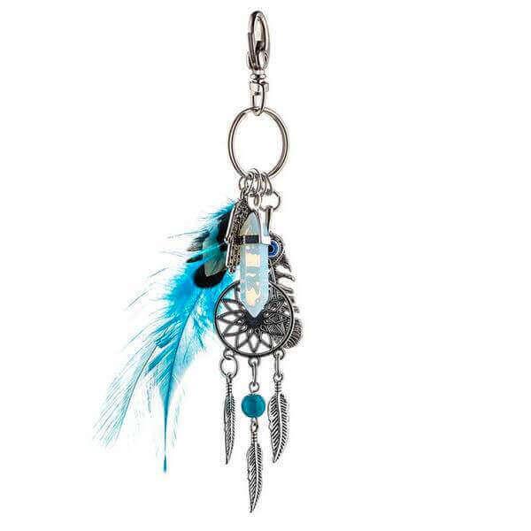 Bohemian Dreamcatcher Keychain