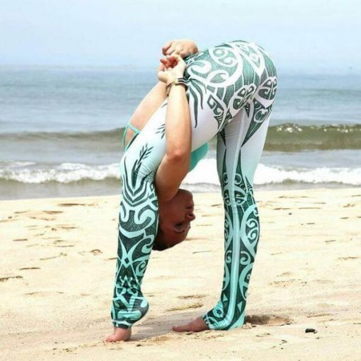 Highly Stretchable Fitness Leggings