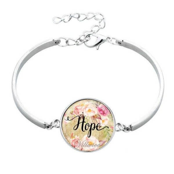 Love, Faith, Hope, and Dream Bracelets