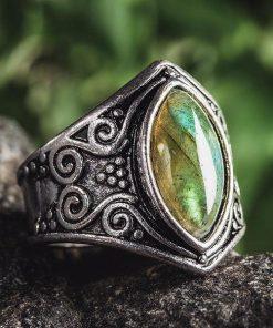 Natural Moonstone Ring
