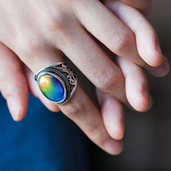 what do the colors mean on a mood ring