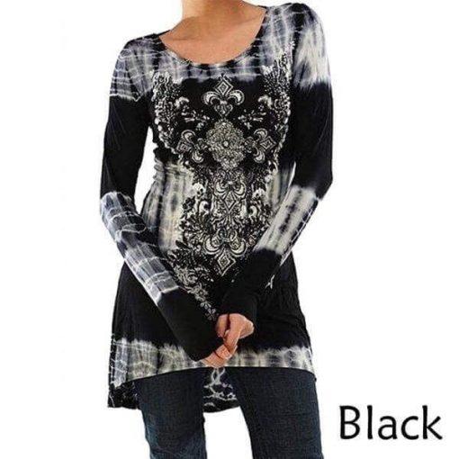 Black Bohemian Tunic