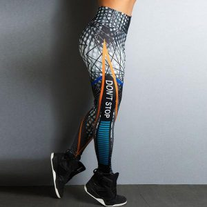 Don't Stop Fitness High Waist Leggings