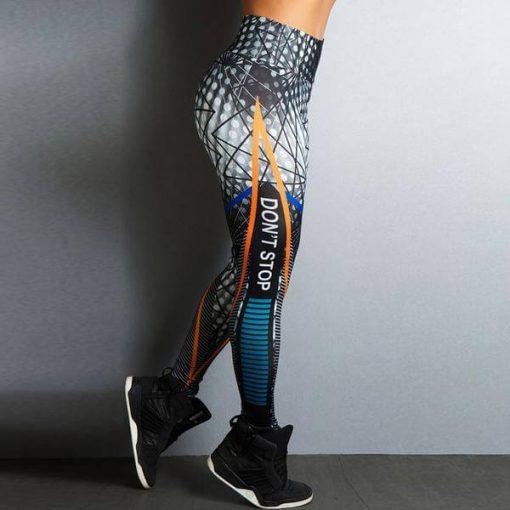 Don't Stop Fitness High Waist Leggings