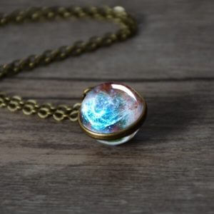 Double Sided Universe Necklace