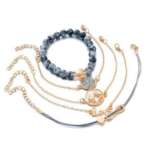 Earth Love Bracelet Set - 5pc