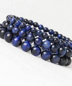 Blue Tiger Eye Beads