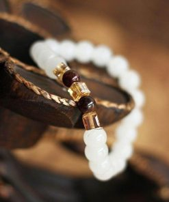 White Chalcedony Bracelet