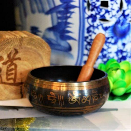 Tibetan Hand Hammered Meditation Singing Bowl