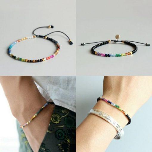 Choose your favorite 12 Constellation Lucky Bracelet - 7 Chakras Bracelet
