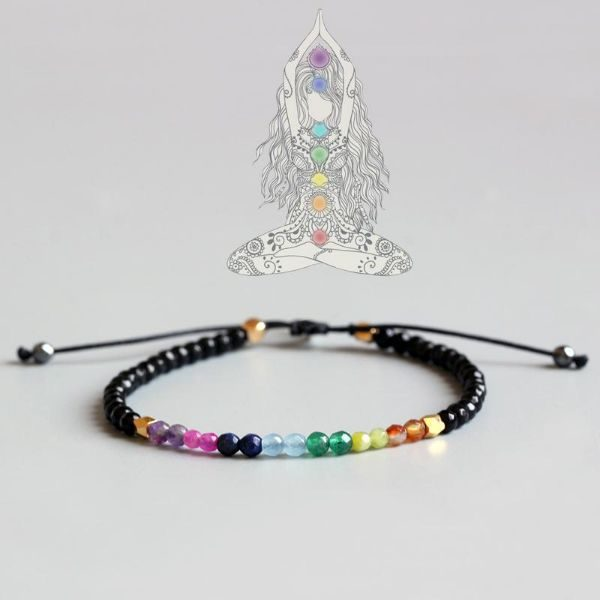 Choose your favorite 12 Constellation Lucky Bracelet - 7 Chakras Bracelet