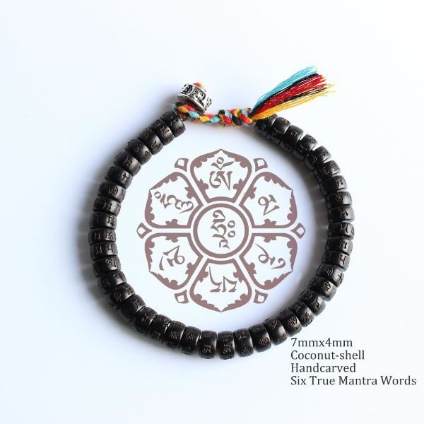 Hand Braided Tibetan Buddhist Lucky Knots Bracelet