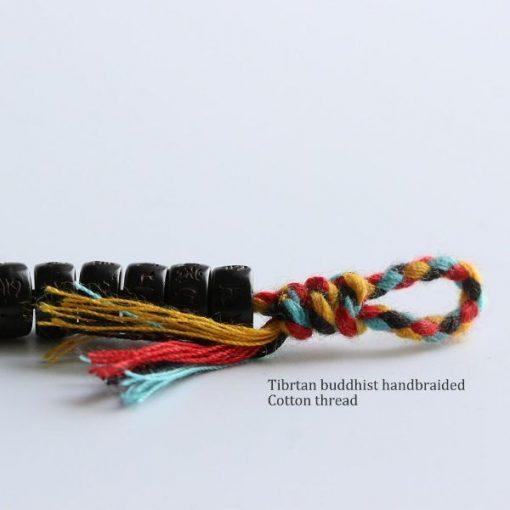 Hand Braided Tibetan Buddhist Lucky Knots Bracelet