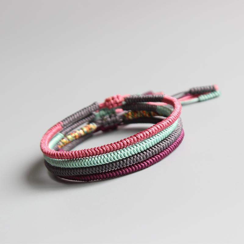 Buddhist Rope Knot Bracelet