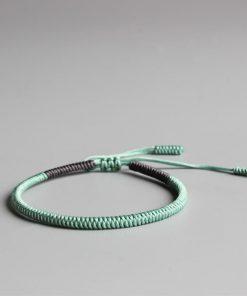 Handmade Lucky Rope Knots Bracelet (Happiness)