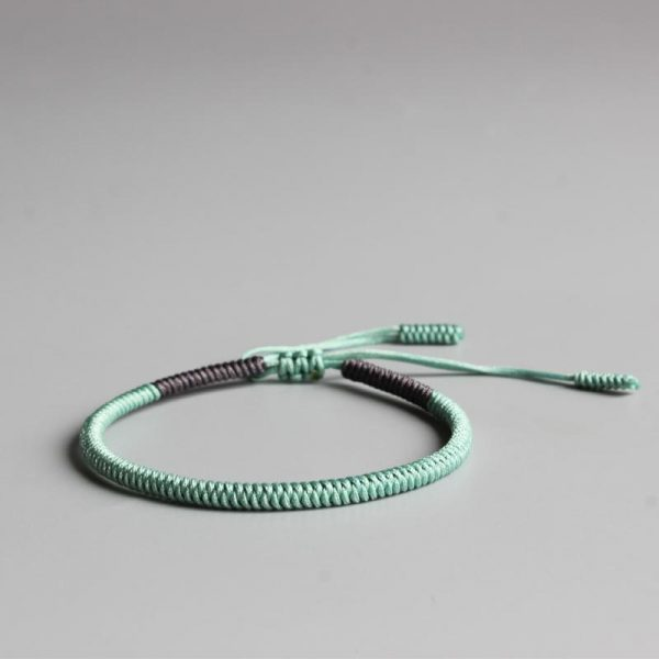Handmade Lucky Rope Knots Bracelet (Happiness)