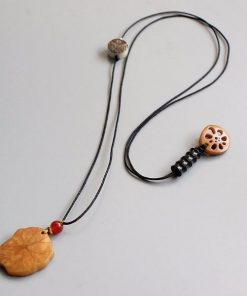 Lotus Leaf Necklace