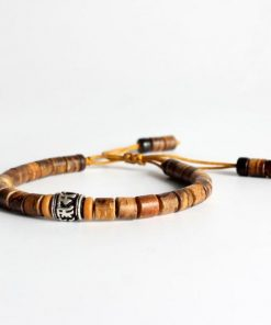 Tiger Eye Mantra Bracelet