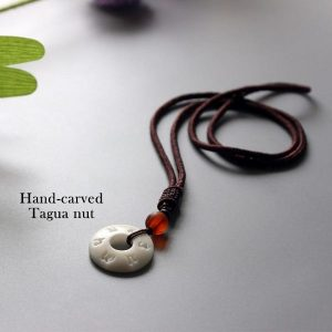 Handmade Mantra Necklace