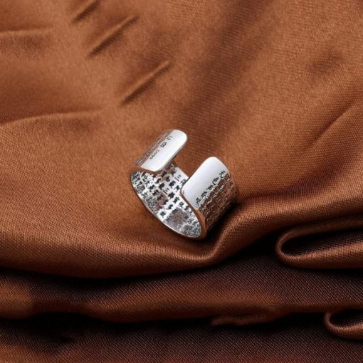 The Heart Of Prajna Paramita Sutra Ring