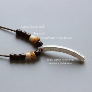 Tibetan Buddhist Handmade Lucky Necklace