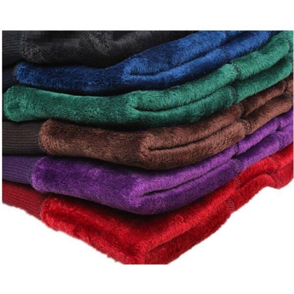 warm Velvet Fleece Lined Leggings