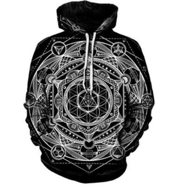 Sacred Geometry Hoodie