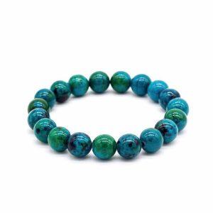 Chrysocolla Earth Stone Bracelet