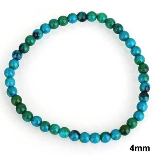 Chrysocolla Stone 4mm